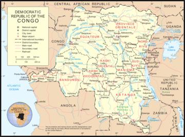 Africa Centrale Cartina Politica.Carta Politica Repubblica Democratica Del Congo Africa Centrale Africa Paesi Home Unimondo