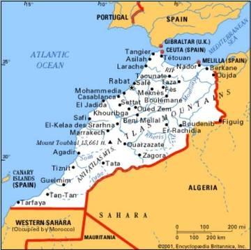 Agadir Marocco Cartina.Jambo Africa Marocco Una Cellula Terroristica Smantellata Nelle Citta Di Tetouan E Agadir