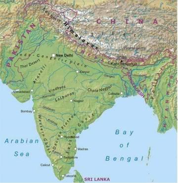 Cartina Fisica E Politica Dell India.Cartina Fisica Dell India Che Sia Decente Yahoo Answers