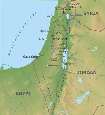 Geografica Cartina Fisica Israele.Sto 3 Israele Palestina Lessons Blendspace