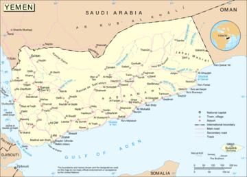 Cartina Yemen.Carta Politica Yemen Asia Occidentale Asia Paesi Home Unimondo