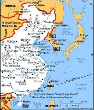 Asia Orientale Cartina Politica.Carta Politica2 Cina Asia Orientale Asia Paesi