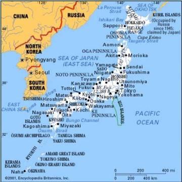 Il Giappone Cartina Politica.Carta Politica Giappone Asia Orientale Asia Paesi Home Unimondo