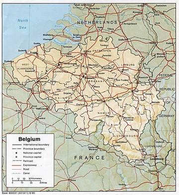 Cartina Fisica Belgio.Carta Fisica Belgio Europa Occidentale Europa Paesi Home Unimondo