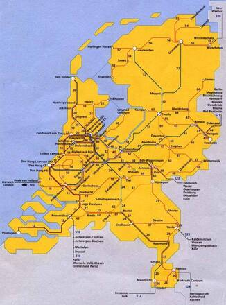 Olanda Cartina Stradale.Reti Stradali E Ferroviarie Paesi Bassi Europa Occidentale Europa Paesi Home Unimondo