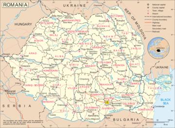 Romania Politica Cartina.Carta Politica Romania Europa Orientale Europa Paesi Home Unimondo